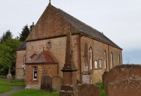 Caerlaverock church