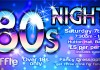 Tickets now available for 80's Night at Bankend!