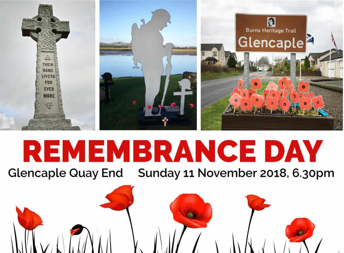 Caerlaverock Remembrance Day 2018 - Caerlaverock Community