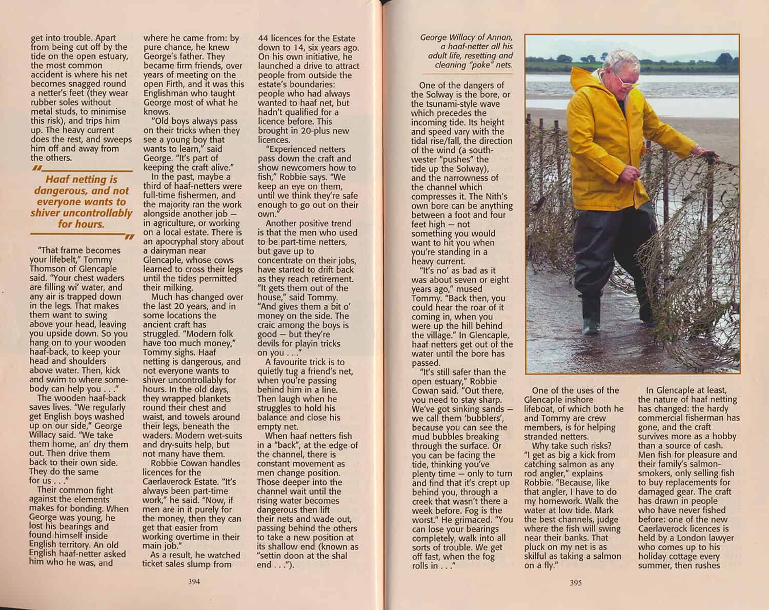 Haaf Netters of The Solway Article (Scots Magazine April